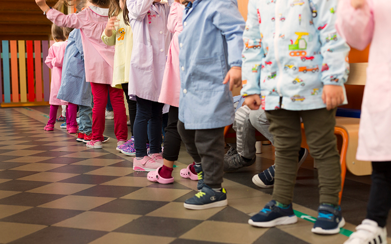 Scuola dell'infanzia Porraneo - sezione infanzia - famiglie