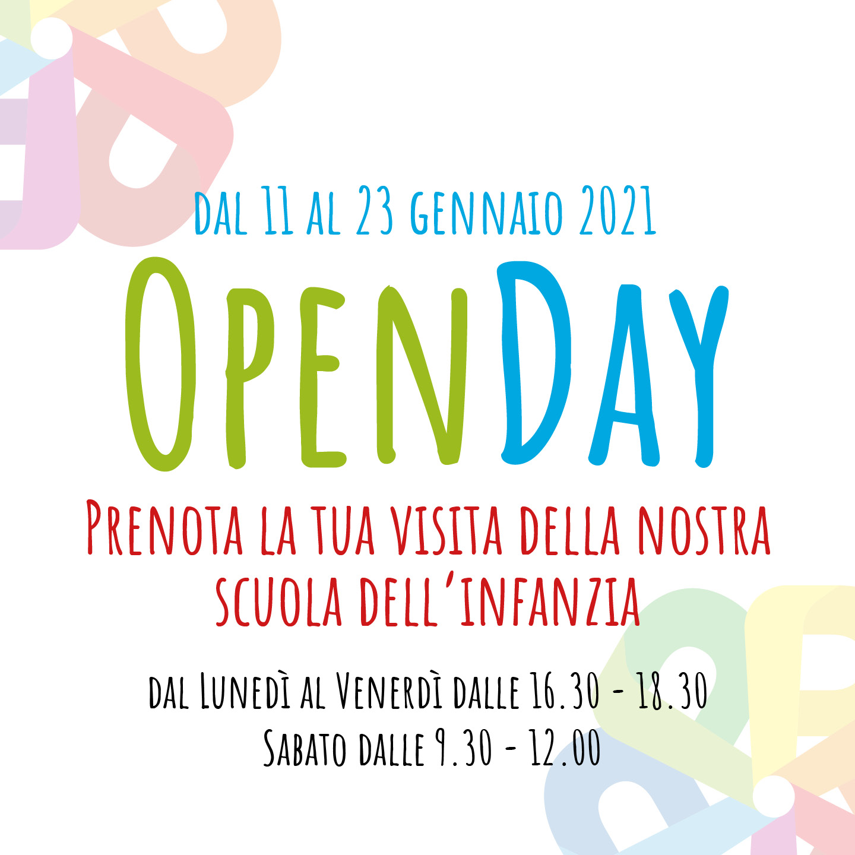 Open Day - Prenota visita